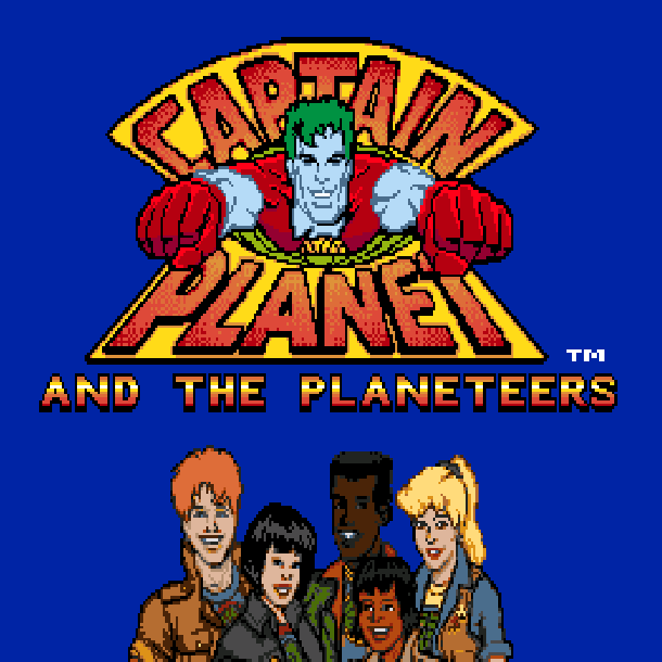 Captain Planet and the Planeteers Sega Genesis Mega Drive Xtreme Retro 1