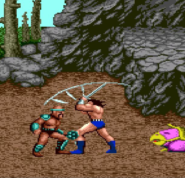 Golden Axe Sega Genesis Mega Drive Arcade Coin Op Beat em up Xtreme Retro