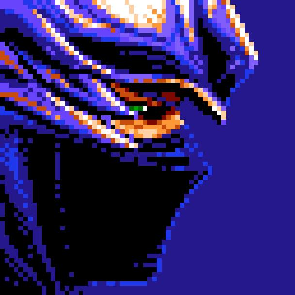 Ninja Gaiden XBOX PS3 Pixel Art Xtreme Retro