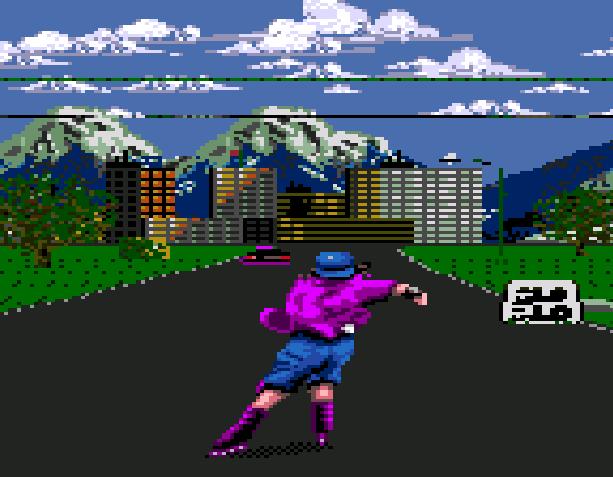 Skitchin Electronic Arts Sega Genesis Mega Drive Xtreme Retro 2