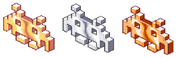 Space Invaders Extreme Taito Pixel Art Xtreme Retro