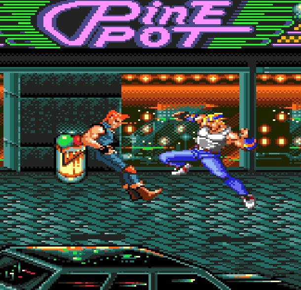 Streets of Rage Bare Knuckle Sega Genesis Mega Drive Beat em up Xtreme Retro