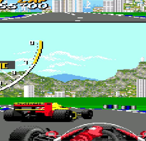 Super Monaco GP Sega Mega Drive Genesis Racing Xtreme Retro