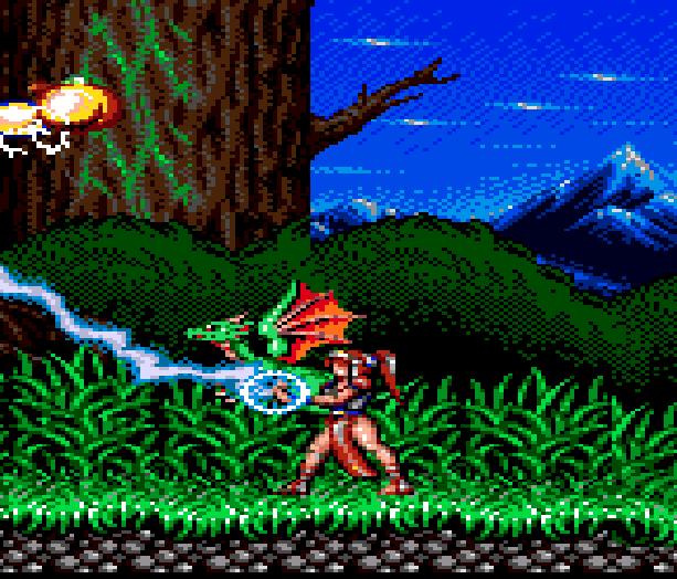 Alisia Dragoon Sega Genesis Mega Drive Xtreme Retro 2