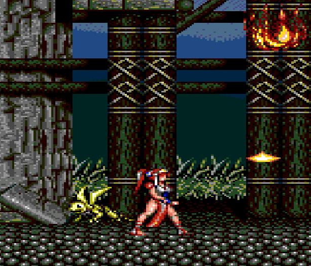 Alisia Dragoon Sega Genesis Mega Drive Xtreme Retro 4
