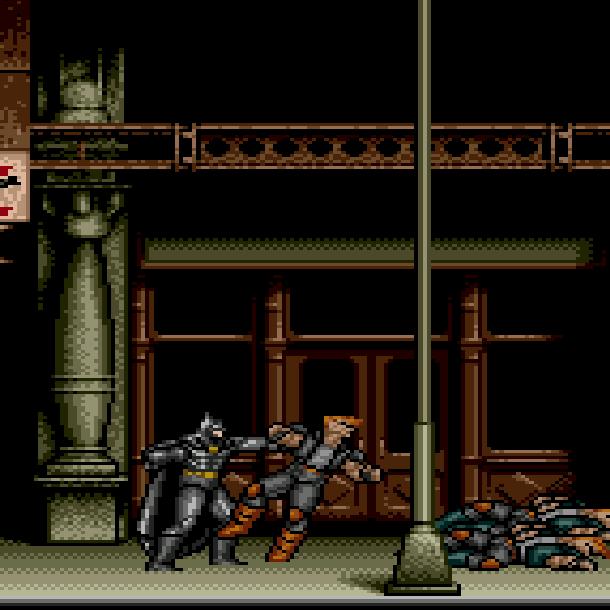 Batman Sunsoft Sega Genesis Mega Drive Xtreme Retro 1