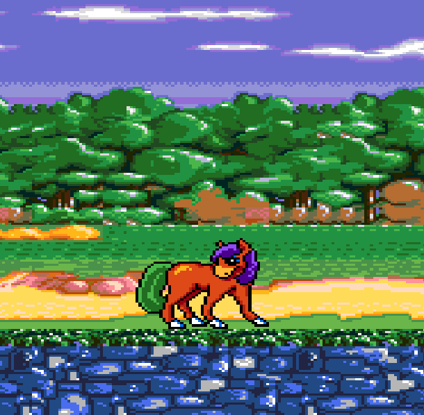 Crystals Pony Tale Sega Genesis Mega Drive Xtreme Retro 1