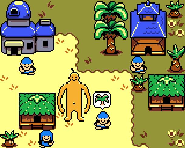DOSHIN THE GIANT Nintendo GameCube GC Pixel Art Xtreme Retro