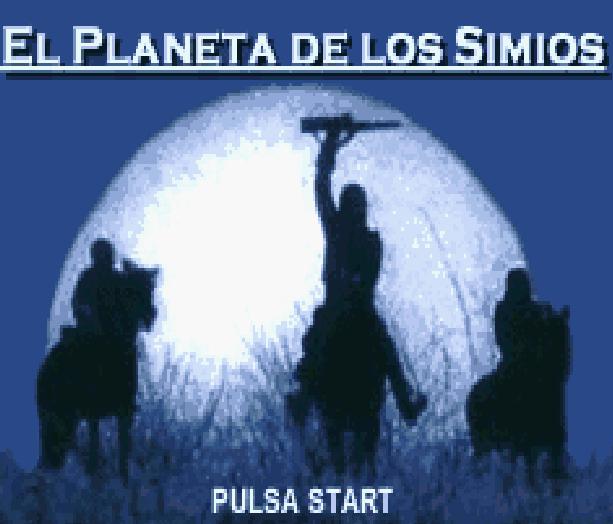 El Planeta de los Simios Nintendo Game Boy Advance GBA Game Boy Color GBC Ubisoft Tim Burton Movie Xtreme Retro 1