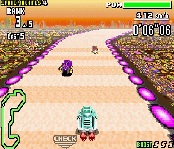 F-Zero Maximum Velocity GBA Game Boy Advance Xtreme Retro 2