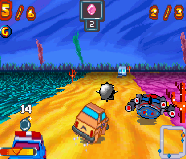 Inspector Gadget Racing Bit Managers GBA Game Boy Advance Xtreme Retro 7