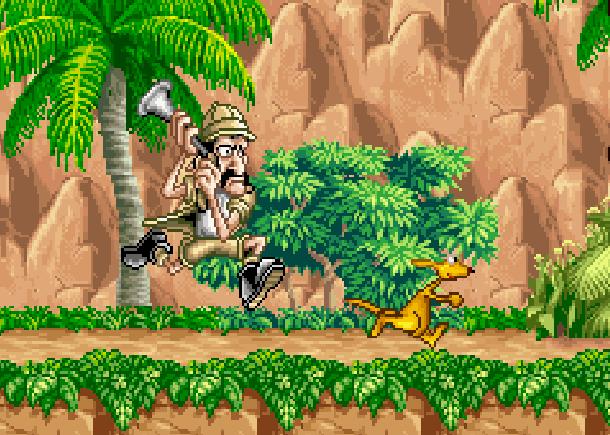 Kao the Kangaroo Titus Game Boy Advance GBA Xtreme Retro
