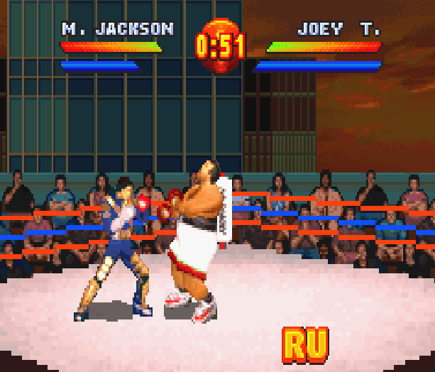 Ready to Rumble Round 2 Boxing Game Boy Advance GBA Midway Xtreme Retro 2