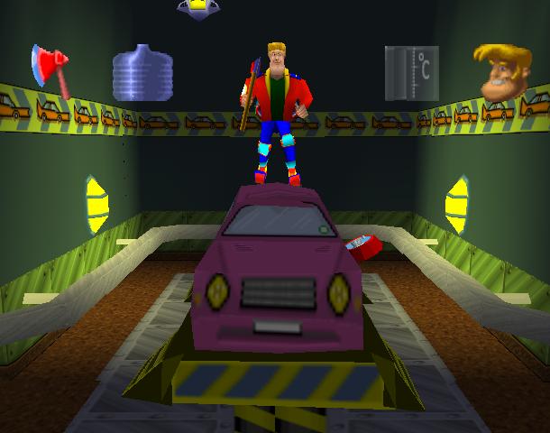Rosco McQueen Sony PlayStation PSX PSOne Xtreme Retro 5