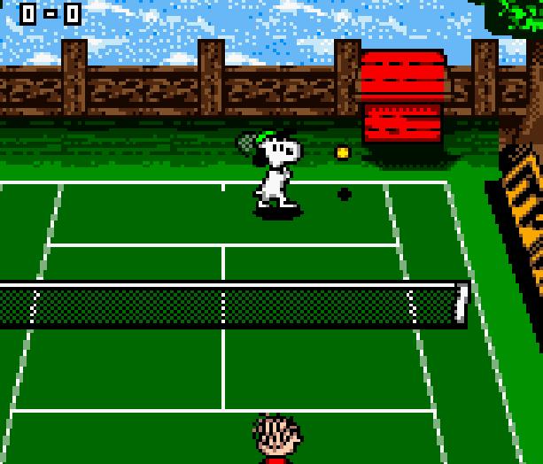 Snoopy Tennis Infogrames Game Boy Color GBC Xtreme Retro 4
