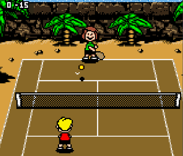 Snoopy Tennis Infogrames Game Boy Color GBC Xtreme Retro 6