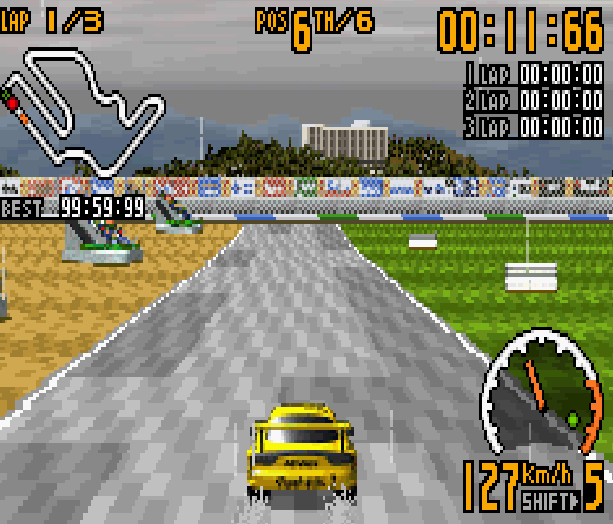 TOP GEAR GT CHAMPIONSHIP GBA Xtreme Retro 2