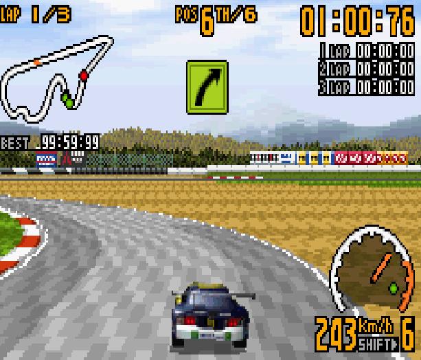 TOP GEAR GT CHAMPIONSHIP GBA Xtreme Retro 4