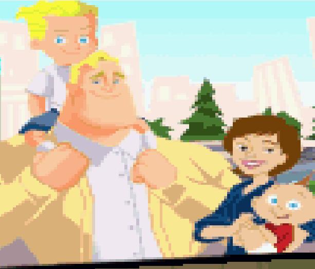 The Incredibles Disney Pixar Game Boy Advance GBA Xtreme Retro 1