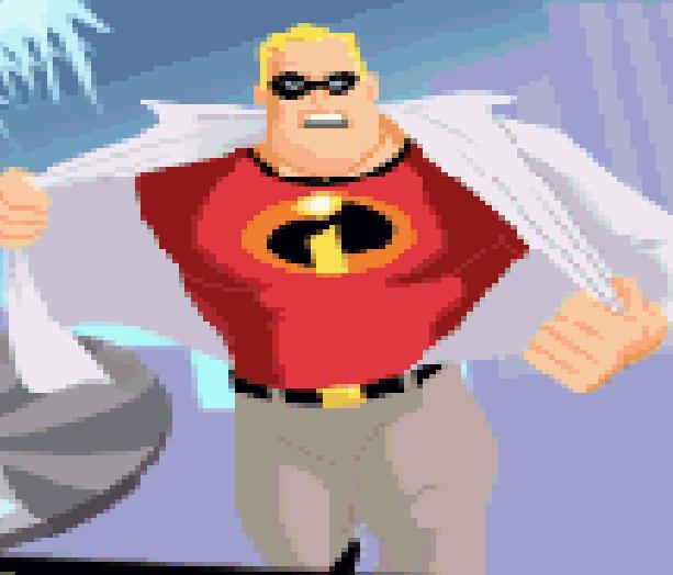 The Incredibles Disney Pixar Game Boy Advance GBA Xtreme Retro 3