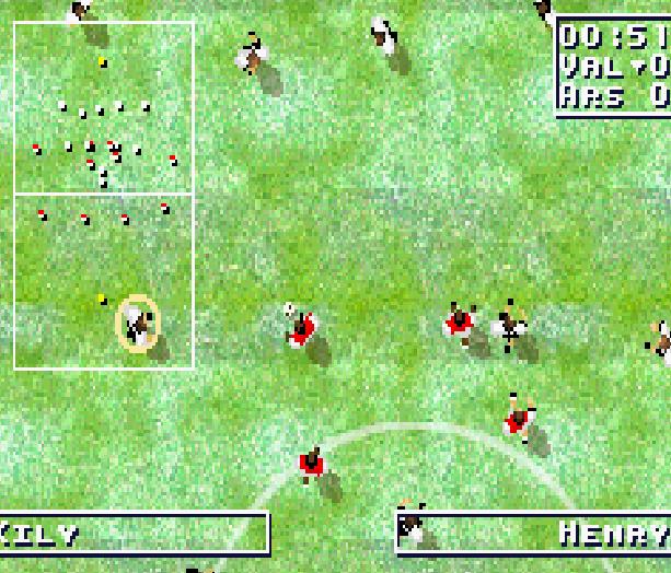 Total Soccer Ubisoft GBA Xtreme Retro 2