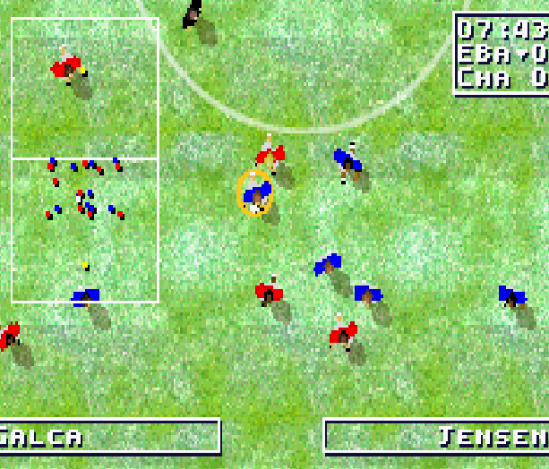 Total Soccer Ubisoft GBA Xtreme Retro 7
