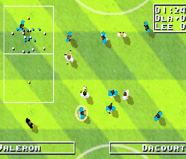 Total Soccer Ubisoft GBA Xtreme Retro 8