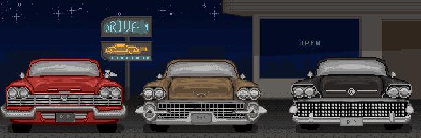 Valvet Parking DsiWare Pixel Art Xtreme Retro