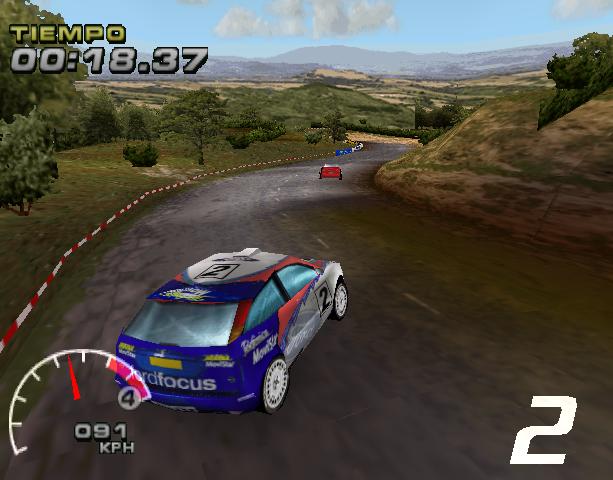 WRC Arcade PlayStation PSX PSOne Xtreme Retro 1