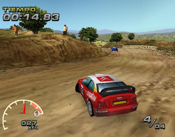 WRC Arcade PlayStation PSX PSOne Xtreme Retro 4