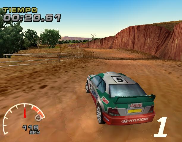 WRC Arcade PlayStation PSX PSOne Xtreme Retro 5