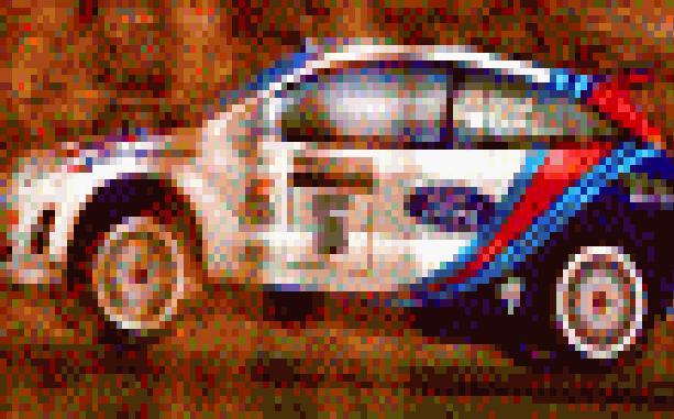 WRC Arcade PlayStation PSX PSOne Xtreme Retro Pixel Art 1
