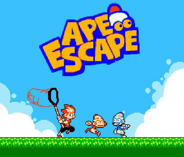 Ape Escape 2 Sony Pixel Art Xtreme Retro
