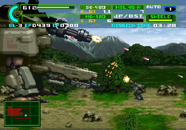 Assault Suit Leynos 2 Sega Saturn Mech Games Xtreme Retro 2