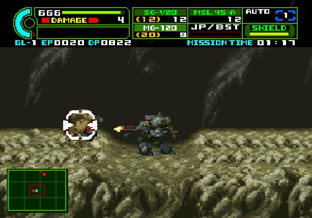Assault Suit Leynos 2 Sega Saturn Mech Games Xtreme Retro 3