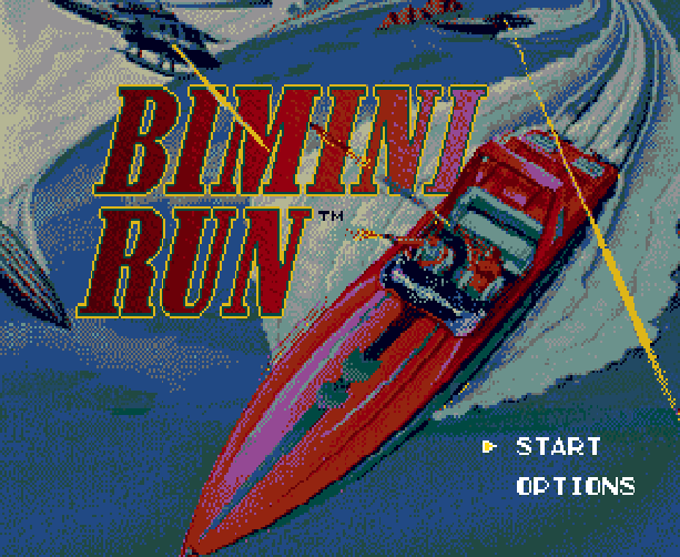 Bimini Run Sega Genesis American Mega Drive Xtreme Retro 1