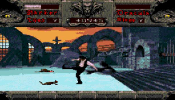 Bram Stoker Dracula Sega CD Mega CD Beat em up Xtreme Retro 15