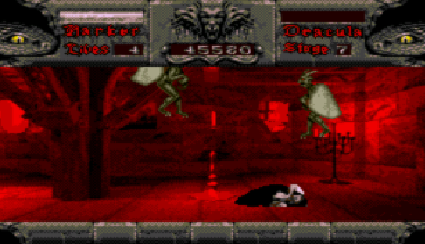 Bram Stoker Dracula Sega CD Mega CD Beat em up Xtreme Retro 16
