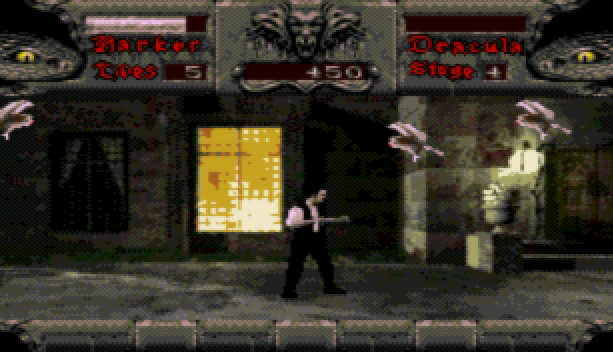 Bram Stoker Dracula Sega CD Mega CD Beat em up Xtreme Retro 3