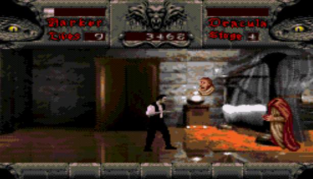 Bram Stoker Dracula Sega CD Mega CD Beat em up Xtreme Retro 5