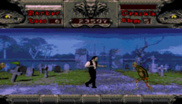 Bram Stoker Dracula Sega CD Mega CD Beat em up Xtreme Retro 9