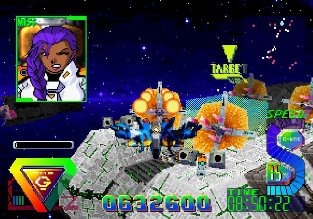 Bulk Slash Sega Saturn Hudson Soft Xtreme Retro 19