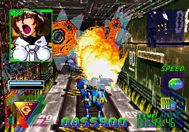 Bulk Slash Sega Saturn Hudson Soft Xtreme Retro 22