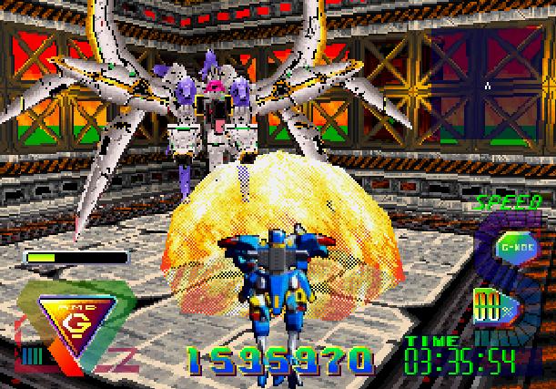 Bulk Slash Sega Saturn Hudson Soft Xtreme Retro 29