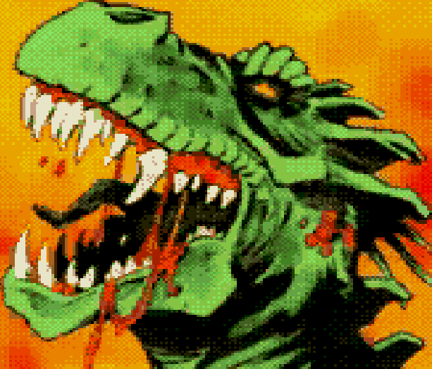 Cadillacs and Dinosaurs The Second Cataclysm Sega CD Mega CD PC Rail Shooter featuring Full Motion Video based on the comic book Xenozoik Tales Xtreme Retro 2