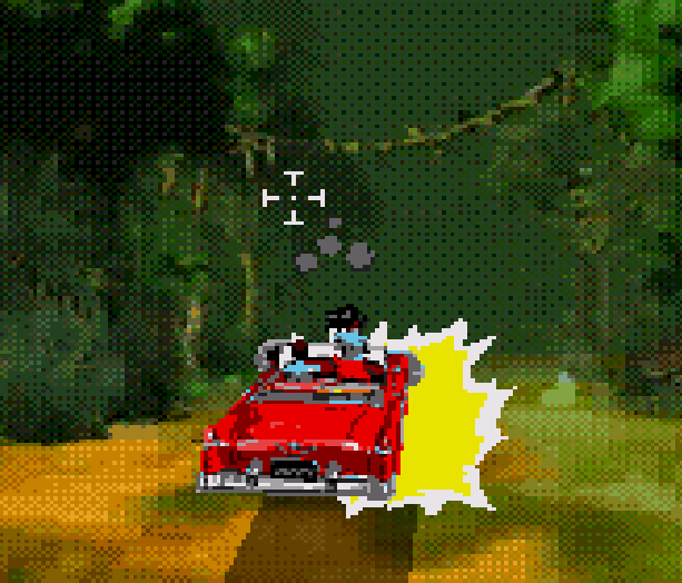 Cadillacs and Dinosaurs The Second Cataclysm Sega CD Mega CD PC Rail Shooter featuring Full Motion Video based on the comic book Xenozoik Tales Xtreme Retro 8