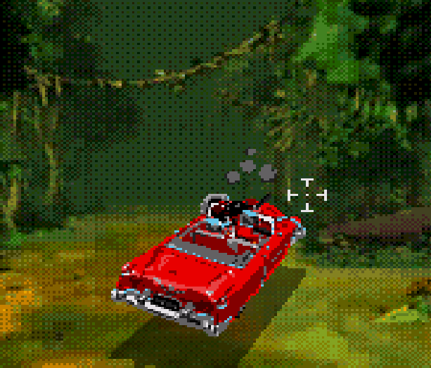Cadillacs and Dinosaurs The Second Cataclysm Sega CD Mega CD PC Rail Shooter featuring Full Motion Video based on the comic book Xenozoik Tales Xtreme Retro 9