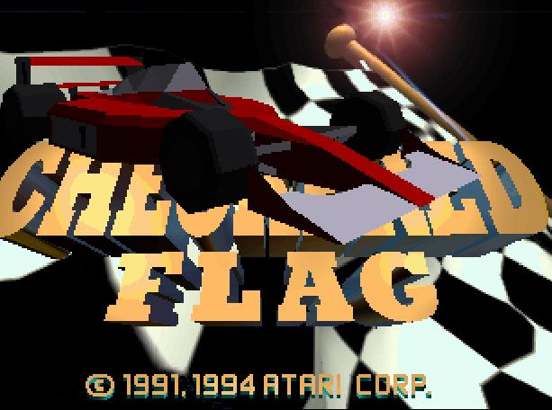 Checkered Flag Atari Jaguar Virtua Racing Copy Rebellion Xtreme Retro 1
