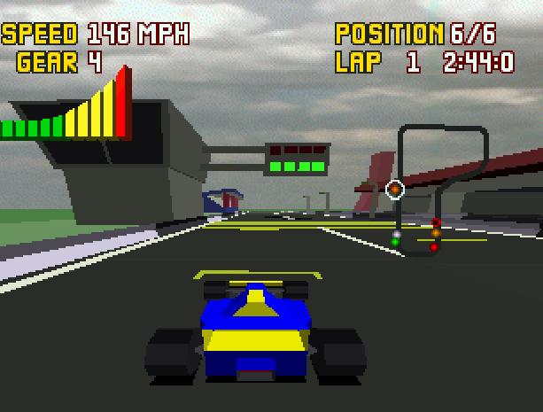Checkered Flag Atari Jaguar Virtua Racing Copy Rebellion Xtreme Retro 5