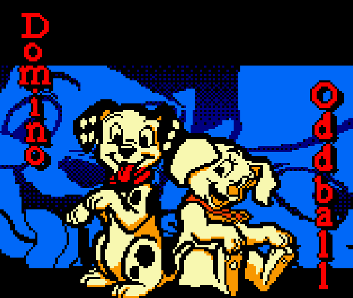 DISNEY'S 102 DÁLMATIANS PUPPIES TO THE RESCUE Pixel Art Xtreme Retro